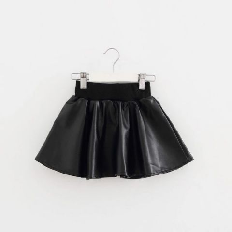 LEATHER LOOK SKIRTS